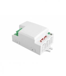 Czujnik mikrofalowy ruchu SRC812 MINI, max 500W, AC220-240V, 50/60Hz, kąt działania 360*, zasięg 2-8