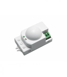 Czujnik mikrofalowy ruchu, SRC812, max 1200W, AC220-240V, 50/60Hz, kąt działania 360*, zasięg 1-8m ±