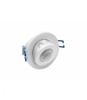 Czujnik ruchu CR-15, max. 800W, AC220-240V, 50/60Hz, kąt działania 360*, zasięg 8m ± 2,2-4m, IP20,