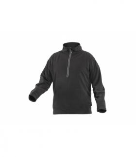 EDER bluza polarowa 1/2 zamek czarny XL