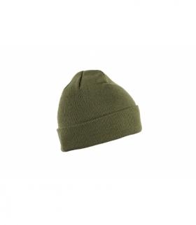 ENZ czapka dzianinowa ciemny zielony rozm. uniwersalny (57-61 cm)