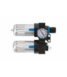 """Filtr powietrza z reduktorem i naolejaczem 1/4"""", 90/60 ml"""