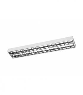 G-TECH Oprawa RASTRO LED 120,2x120 T8 LED-J,G13,AC220-240V,50/60Hz,IP20,natynkowa,biały