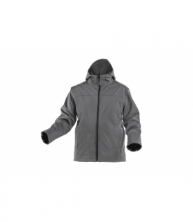 INN kurtka softshell z kapturem grafit 2XL