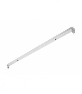 INNOVO Oprawa świetlówkowa OSL SLIM-1x120 T8 LED-J, G13, AC220-240V, 50/60Hz, IP20, natynkowa, biały