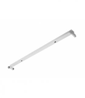 INNOVO Oprawa świetlówkowa OSL SLIM-2x120 T8 LED-J, G13, AC220-240V, 50/60Hz, IP20, natynkowa, biały