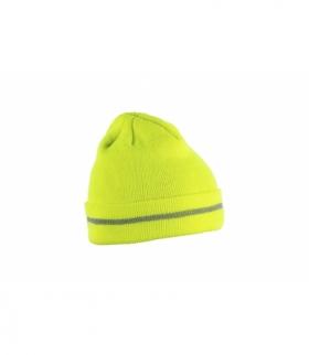ISEN czapka dzianinowa żółta rozm. uniwersalny (57-61 cm)