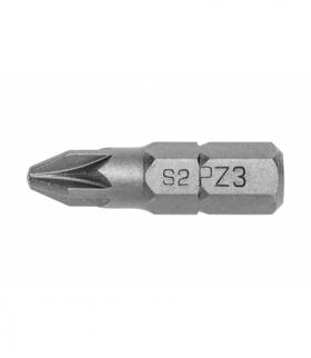 Końcówka wkretakowa PZ3, 25mm 5szt