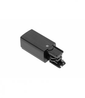 Końcówka zasilająca do szynoprzewodu 3-fazowego, 98x35mm, lewa, czarna