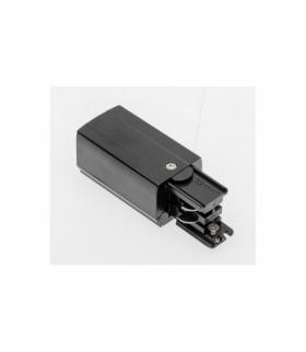 Końcówka zasilająca do szynoprzewodu 3-fazowego, 98x35mm, prawa, czarna