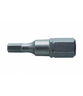 Końcówki wkrętakowe HEX 4, 25 mm, 2 szt