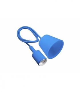 Lampa wisząca MINIO , E27, MAX.60W, AC220-240V, 50/60Hz, długość kabla 100 cm, niebieska
