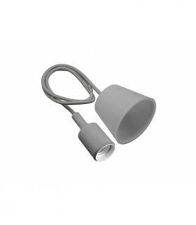 Lampa wisząca MINIO , E27, MAX.60W, AC220-240V, 50/60Hz, długość kabla 100 cm, szara