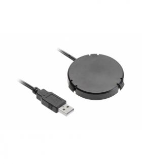 Ładowarka bezprzewodowa podblatowa z zasilaczem, przewód USB 1,5m