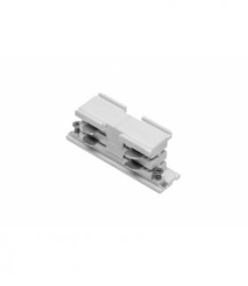 Łącznik elektryczny do szynoprzewodu 3-fazowego X-RAIL, 68x21 mm, biały
