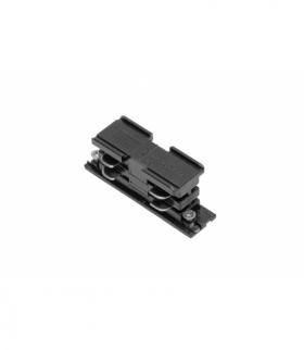 Łącznik elektryczny do szynoprzewodu 3-fazowego X-RAIL, 68x21 mm, czarny
