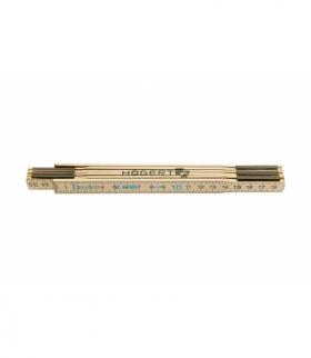Miara drewniana 1m, 6 segmentów