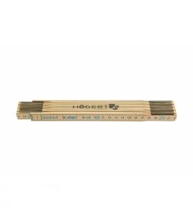 Miara drewniana 2m, 10 segmentów