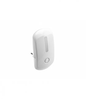 Mini lampka wtykowa LED ML2,1W,50lm,AC220-240V/50-60Hz,IP20,4000K,OFF/ON