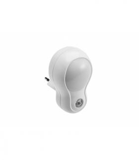 Mini lampka wtykowa LED ML4 z cz.zmierzowym,1W,50lm,AC220-240V/50-60Hz,IP20,4000K