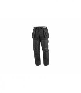 NEKAR spodnie kaburowe kieszenie czarny L