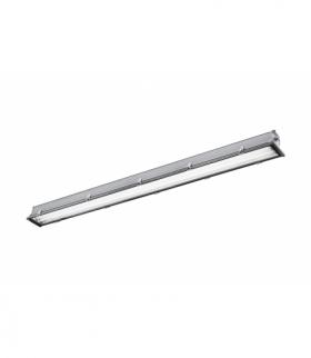 Oprawa hermetyczna HEKATE-LED 258, T8 LED-J, G13, AC220-240V, 50/60Hz, IP65, aluminium, szyba hartow