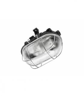 Oprawa kanałowa SANGUESA KAM, max 40W, E27, AC220-240V, 50-60Hz, IP54, ABS/szkło/metalowa kratka, cz