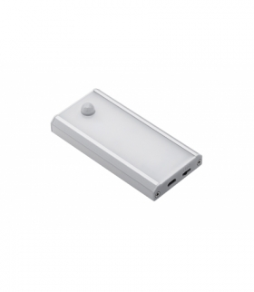 Oprawa LED bezprzewodowa Coma PIR (ładowana przez port USB) z przewodem USB 0,5m