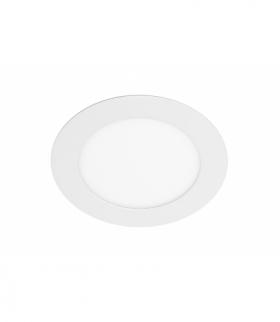 Oprawa LED ORIS PLUS typu downlight,7W,560lm,AC220-240V,50/60Hz,120°,3000K,wpuszczana,biały
