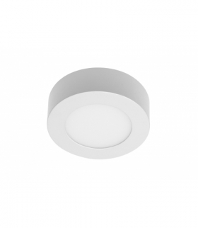 Oprawa LED ORIS PLUS typu downlight,7W,560lm,AC220-240V,50/60Hz,120°,4000K,natynkowa,biały