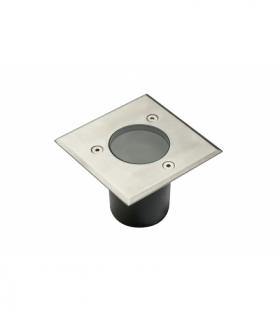 Oprawa najazdowa ALFA-K-MINI, max.10 W, GU10, IP67, AC220-240V, 50/60Hz, inox