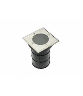 Oprawa najazdowa ALFA-K, max.50 W, GU10, IP67, AC220-240V, 50/60Hz, inox