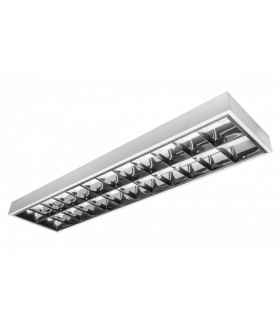 Oprawa RASTRO LED 150, 2x150cm T8 LED, IP20, z okablowaniem pod świetlówki LED