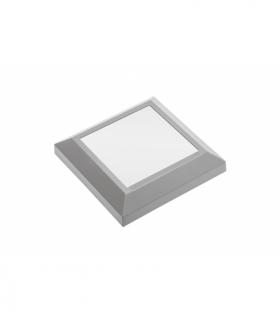 Oprawa schodowa LED SILVER KW, 4W, 250lm, AC220-240V, 50/60Hz, kąt świecenia 120*, IP65, kwadrat, ml