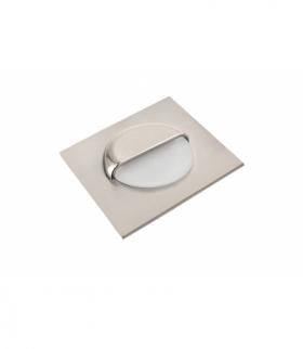 Oprawa schodowa LED ESCADA kwadratowa mleczna barwa neutralna
