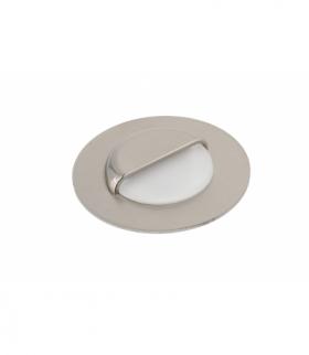 Oprawa schodowa LED ESCADA okrągła mleczna barwa neutralna