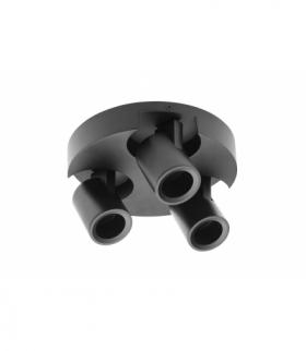 Oprawa sufitowa BLINK, AC220-240V, 50/60 Hz, GU10, max. 20W*3, IP 20, potrójna, czarna