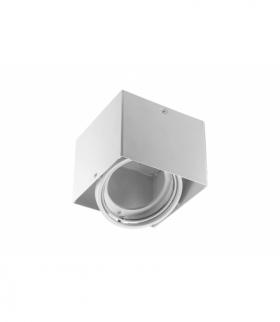 Oprawa sufitowa PIREO N natynkowa, pojedyńcza, IP20, biała/biała