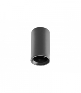 Oprawa sufitowa SENSA MINI, alum, 64x115, IP20, max 50W, okrągła czarna