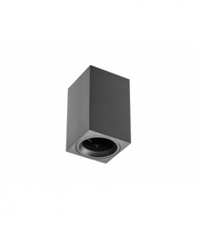 Oprawa sufitowa SENSA MINI, alum, 70x70x115, IP20, max 50W, kwad. czarna
