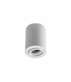 Oprawa sufitowa SENSA, alum, 85x115, IP20, max 50W, okrągła biała