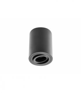Oprawa sufitowa SENSA, alum, 85x115, IP20, max 50W, okrągła czarna
