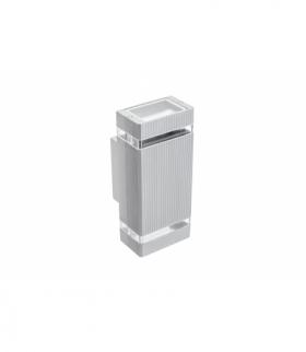Oprawa ścienna dwukierunkowa NESSA, GU10, MAX. 2x50W, IP54, AC220-240V, 50/60Hz, szara