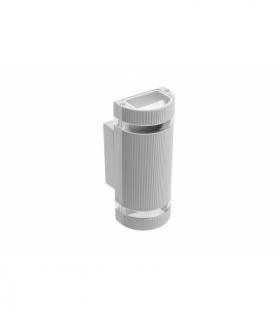 Oprawa ścienna dwukierunkowa SILVA, GU10, MAX 2x50W, IP54, AC220-240V, 50/60Hz, szara