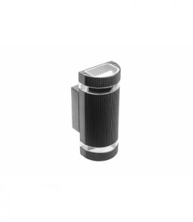 Oprawa ścienna dwukierunkowa SILVA, GU10, MAX.2x50W, IP54, AC220-240V, 50/60Hz, czarna