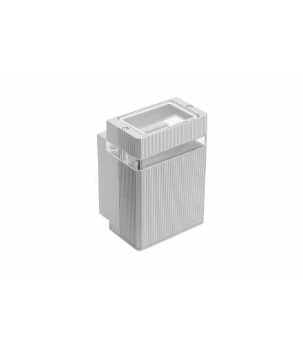 Oprawa ścienna jednokierunkowa NESSA, GU10, MAX. 50W, IP54, AC220-240V, 50/60Hz, szara