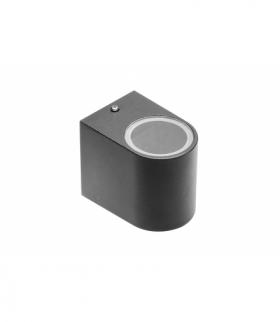 Oprawa ścienna jednokierunkowa, TIAGO, GU10, MAX. 35W, IP54, AC220-240V, 50/60Hz, czarna