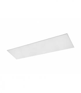 Panel LED KING+ 45W, 4500lm, AC220-240V, 50/60Hz, IP54, 120x30cm, neutralna biała, biały