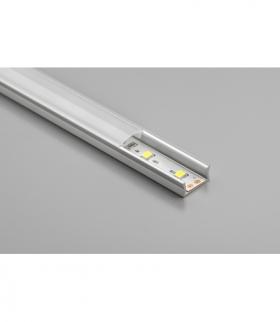 profil aluminiowy LED  nakładany GLAX Mini silver 2 m