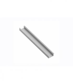 profil aluminiowy LED  nakładany GLAX Mini silver 3,05 m